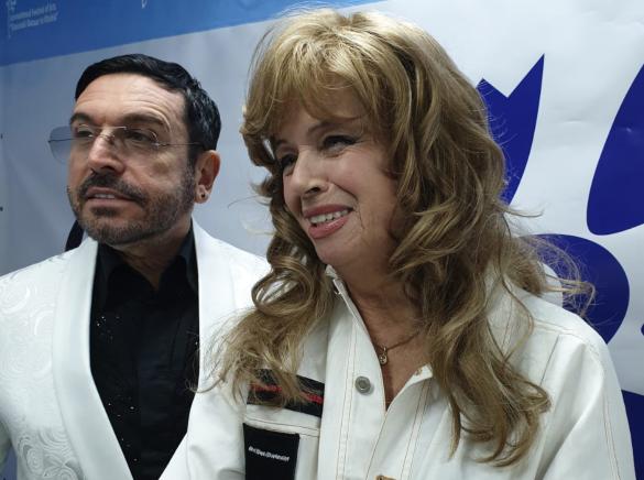 Олег Слепцов и Елена Преснякова. Фото: Дни.ру