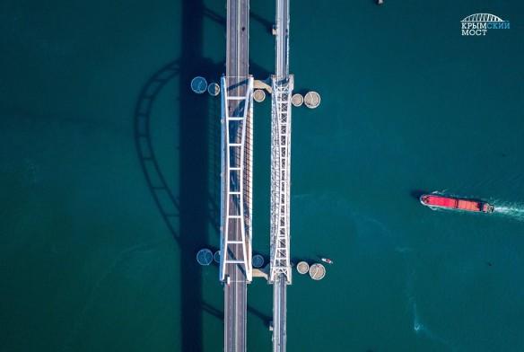 Окончательно Крымский мост будет готов после ввода железнодорожной части. Фото: most.life