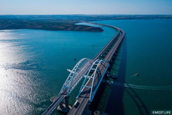 В Крымском мосту усмотрели угрозу. Фото: most.life