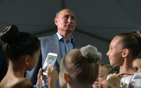 Владимир Путин. Фото: Алексей Дружинин/пресс-служба президента РФ/ТАСС