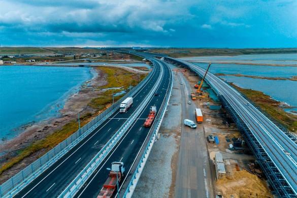 Длина Крымского моста – 19 километров. Фото: most.life/multimedia
