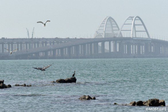 Крымский мост – надежное сооружение. Фото:most.life/multimedia