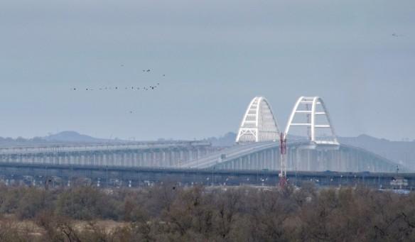 В декабре по Крымскому мосту будут запущены поезда. Фото:most.life/multimedia