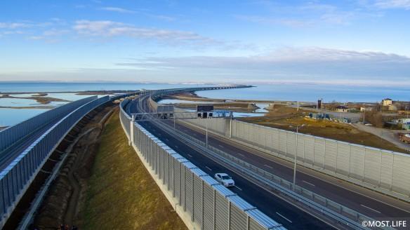 Длина Крымского моста – 18 километров. Фото:most.life/multimedia
