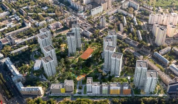 «Гулливер» - жилой квартал в самом центре Перми. Фото: kortros.ru
