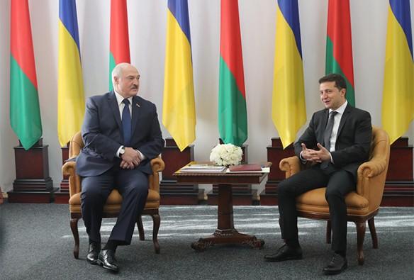 Александр Лукашенко и Владимир Зеленский рровели переговоры. Фото: president.gov.by