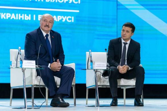 Встреча Александра Лукашенко и Владимира Зеленского. Фото: president.gov.ua