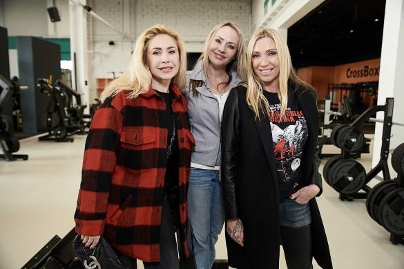 Анастасия Гребенкина, Мария Бутырская, Светлана Мастеркова. Фото: пресс-служба