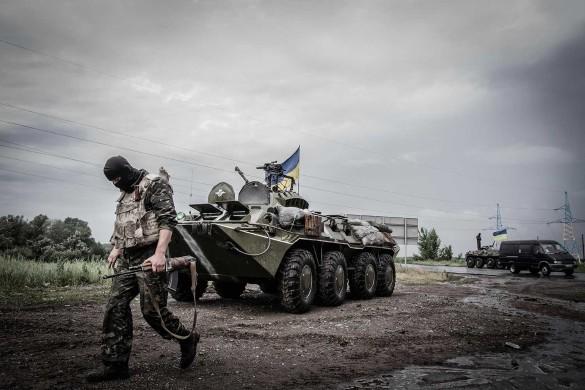 Война в Донбассе при Владимире Зеленском продолжается. Фото: www.globallookpress.com