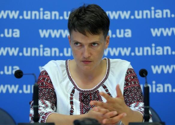Надежда Савченко. Фото: www.globallookpress.com