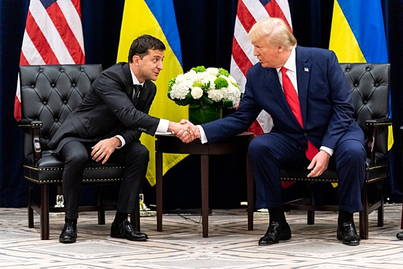 Владимир Зеленский и Дональд Трамп. Фото: www.globallookpress.com