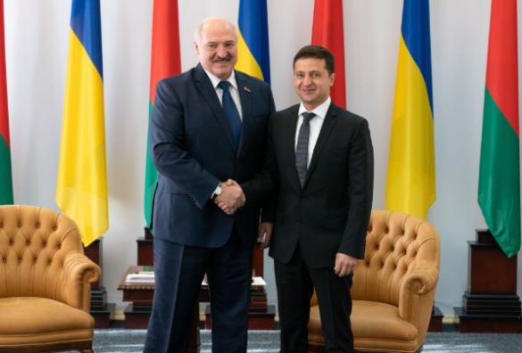 Встреча Александра Лукашенко и Владимиром Зеленским. Фото: president.gov.ua