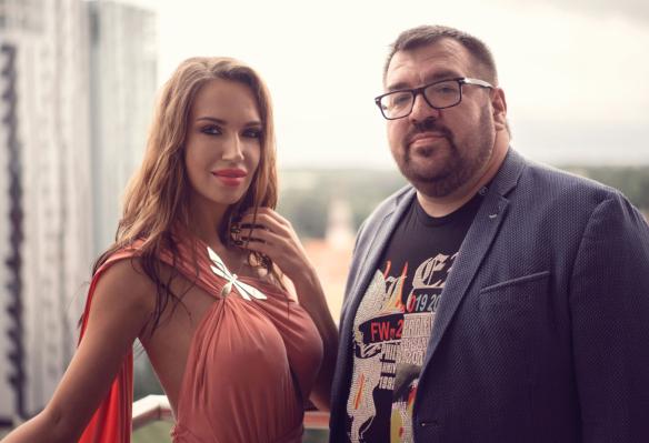 Илона Калдре и Сергей Сумин. Фото: пресс-служба