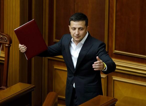 Владимир Зеленский, новости Украина. Фото: www.globallookpress.com