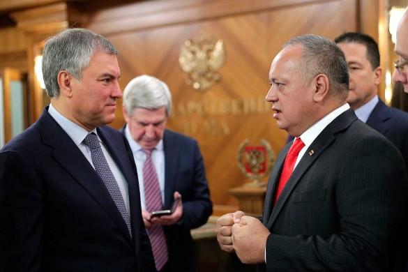 Вячеслав Володин и Диосдадо Кабельо Рондон. Фото: duma.gov.ru