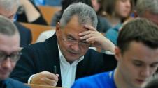 Сергей Иванов признался, что принес с собой шпаргалку –
