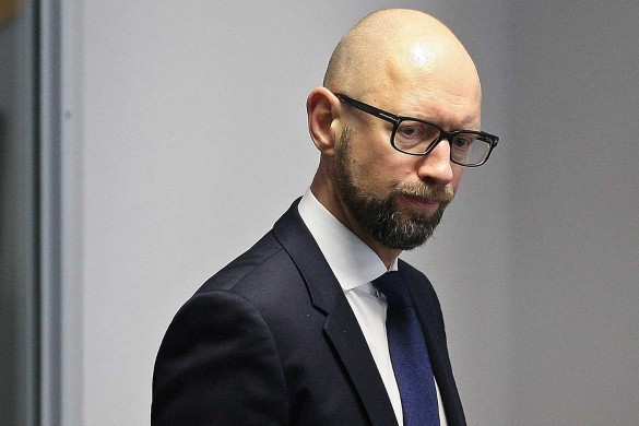 Арсений Яценюк. Фото: www.globallookpress.com