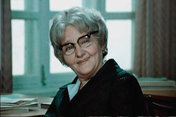 """Анастасия Георгиевская. Кадр из """"Большая перемена"""" (1972, 1973)"""