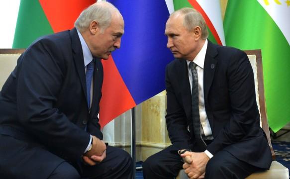 Путин и Лукашенко; Беларусь; 2019. Фото: Globallookpress