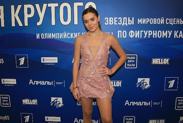 Аделина Сотникова. Фото: Пресс-служба