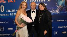 Татьяна Навка, Игорь и Ольга Крутые. Фото: Пресс-служба