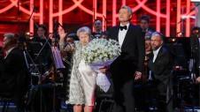 Именниница от всей души поблагодарила Путина за оказанную честь.