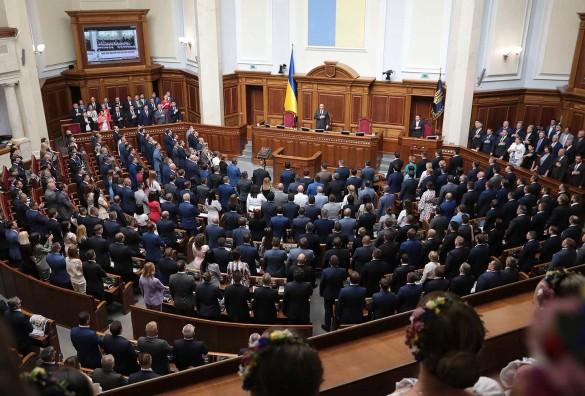 Владимир Зеленский и Верховная рада; Украина; новости. Фото: www.globallookpress.com