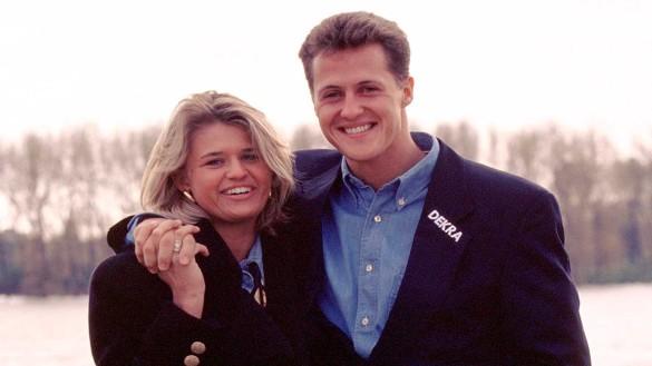 Михаэль Шумахер с женой. Фото: www.globallookpress.com