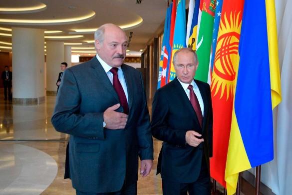 Александр Лукашенко и Владимир Путин; Беларусь; новости. Фото: www.globallookpress.com