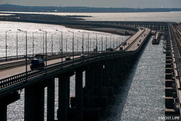 Крымский мост улучшил транспортную доступность полуострова. Фото: most.life