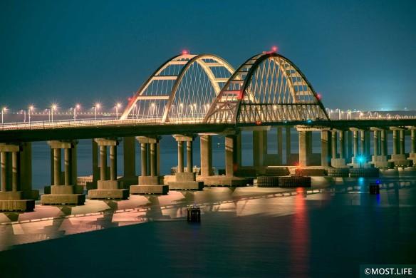 Скоро откроется железнодорожное сообщение по Крымскому мосту. Фото:most.life/multimedia