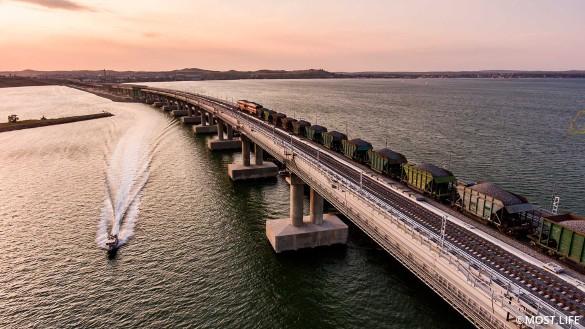 Поезда через Крымский мост свяжут полуостров с Москвой и Санкт-Петербургом. Фото:www.most.life/multimedia
