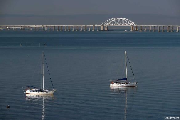 Длина Крымского моста – 19 километров. Фото: most.life