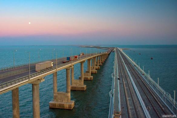 Крымский мост соединил полуостров с Кубанью. Фото: most.life