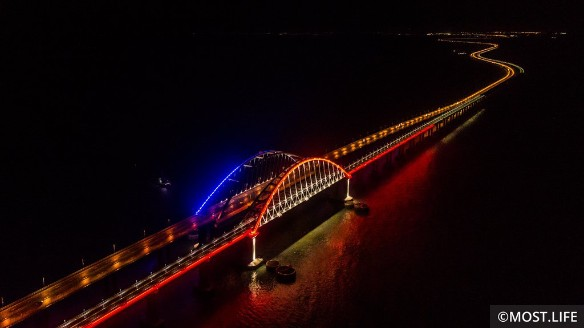 Крымский мост сегодня. Фото: Most.life
