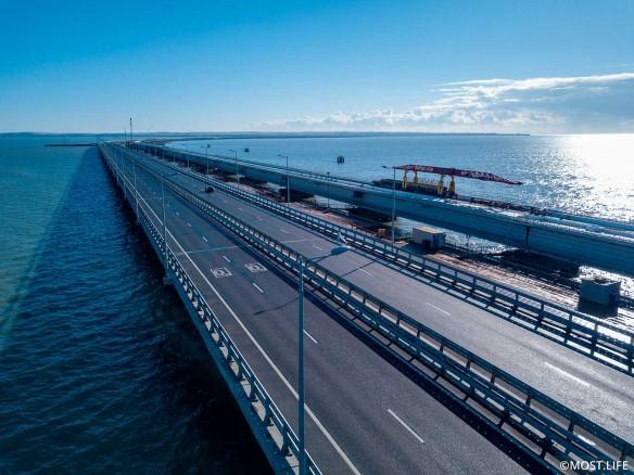 Строительство Крымского моста завершилось в декабре 2019 года. Фото: most.life
