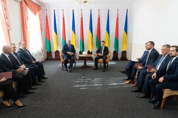 Александр Лукашенко и Владимир Зеленский. Фото: president.gov.ua