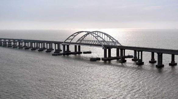 Крымский мост сегодня. Фото: Kremlin Pool/www.globallookpress.com