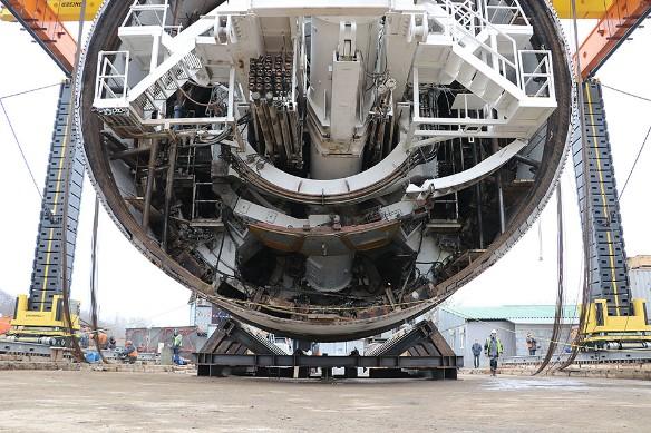 Тоннелепроходческий комплекс, выбранный Русланом Байсаровым для строительства БКЛ. Фото: Пресс-служба