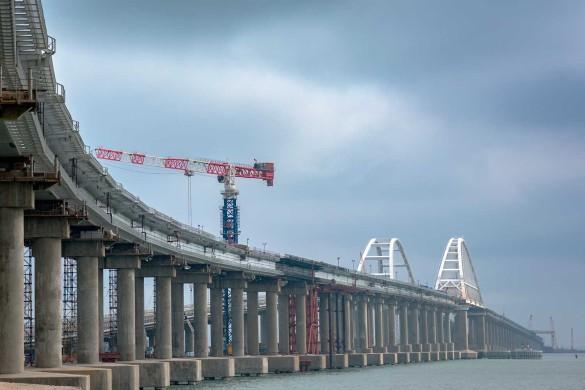 Крымский мост через Керченский пролив. Фото: most.life