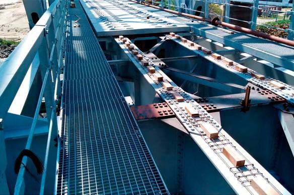 Строительство моста через реку Дон компанией ГК СК Мост Руслана Байсарова
