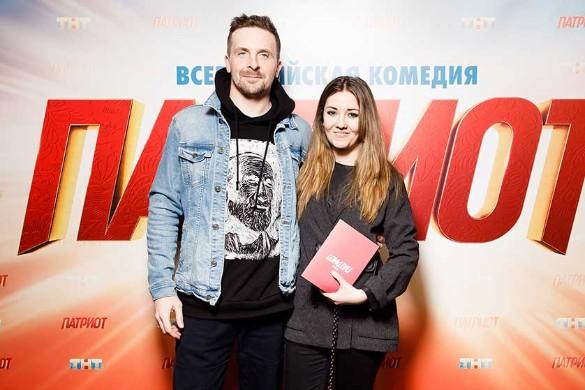 Алексей Базанов и Валентина Лукащук. Фото: Пресс-служба