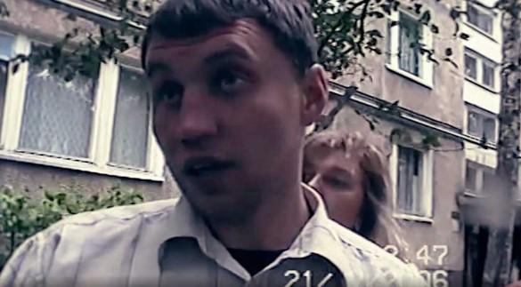 Дмитрий Балакин во время следственного эксперимента.Фото: архив телеканала ЧЕ