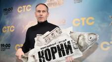 Телеведущий Михаил Шац на премьере сериала телеканала СТС