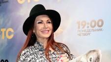 Актриса Эвелина Бледанс на премьере сериала телеканала СТС