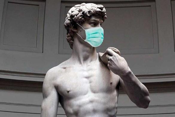 Коронавирус: приколы про маски. Фото: Дни.ру