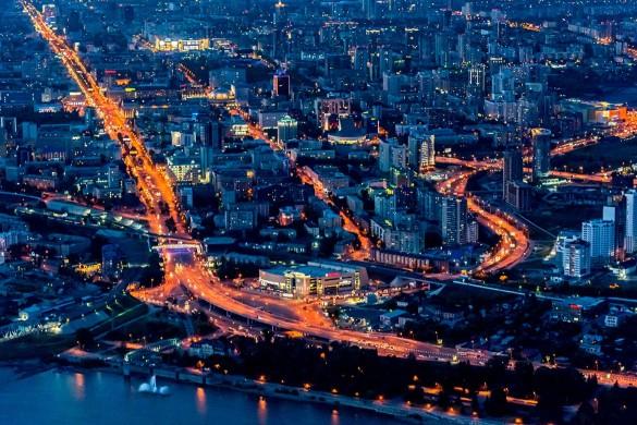 Новосибирск. Фото: Serguei Fomine/Global Look Press/www.globallookpress.com