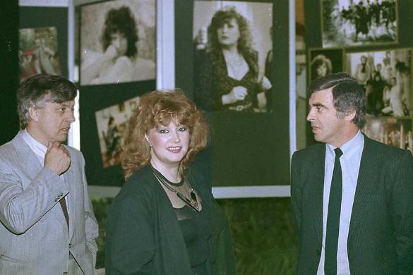 Раймонд Паулс, Алла Пугачева и Игорь Гранковский. Фото: пресс-служба