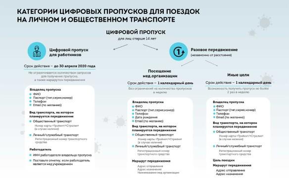 Цифровой пропуск можно получить как для поездок на работу, так и для других целей. Фото: sobyanin.ru