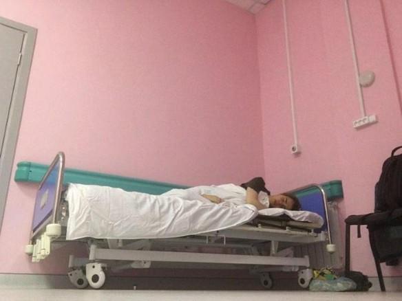 Никита Турчин занял койку умершего пациента. Фото: личный архив